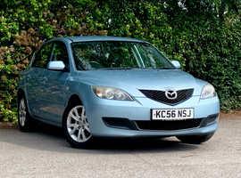 Mazda MAZDA 3 1.6 TS2, 2006 (56) Blue Hatchback, Manual Petrol, LONG MOT