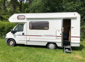 Fiat Ducato 2.8 TD Swift Lifestyle 590RS 5 berth motorhome