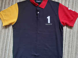 Hackett polo top size M