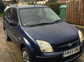 Suzuki Ignis, 2005 (55) Blue Hatchback, Automatic Petrol, 43,400 miles £1800 ovno