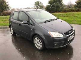 Ford Focus, 2006 (55) Grey MPV, Automatic Petrol, 89,000 miles