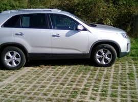 Kia Sorento, 2013 (13) Silver Estate, Automatic Diesel, 88,350 miles