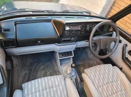Volkswagon Mk1 golf convertible