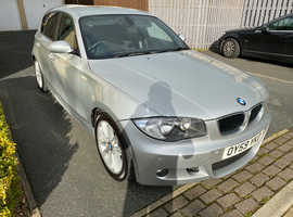 BMW 1 series, 2009 (59) Silver Hatchback, Manual Petrol, 60,600 miles