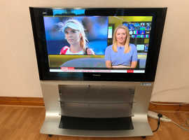 "Panasonic Viera TH-42PV500B 42"" Plasma TV including stand and remote control"