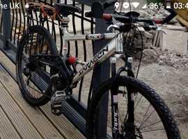 Stolen mountain bike