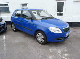 Skoda Fabia, 2008 (58) Blue Hatchback, Manual Petrol, 71,000 miles