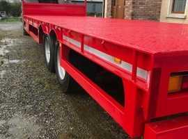 hi speed 26ft bale trailer