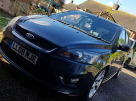 Ford FOCUS ST-2, 2008 (08) grey hatchback, Manual Petrol, 109000 miles