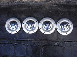 VW alloy wheel centre caps