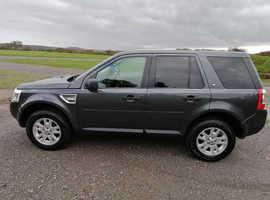 Land Rover Freelander, 2009 (09) Grey Estate, Manual Diesel, 151,000 miles