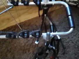 Car x3 universal bike rack