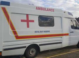 Mercedes Sprinter Ambulance Campervan