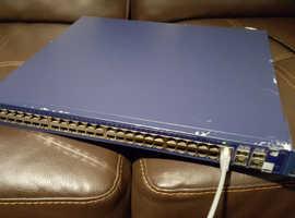 NETGEAR GS748TP V1H2 48-Port PoE Smart PoE Switch 1U Rack-mount with brackets included