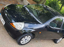 Ford Ka, 2007 (07) Black Hatchback, Manual Petrol, 74,000 miles