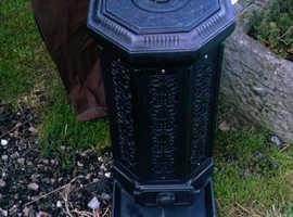 Lovely Vintage Antique Cast Iron Wood Burner Pot Belly Stove
