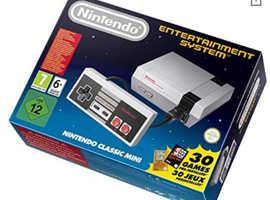 Mini Nintendo NES Entertainment System games console - £35