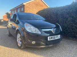 Vauxhall Corsa, 1.4 LONG MOT ,SATNAV