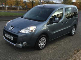 Peugeot Partner, 2011 (61) Blue MPV, WAV, Manual Diesel, 131,936 miles