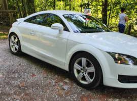 Audi TT, 2009 (59) White Coupe, Manual  quarto Diesel, 93,000 miles