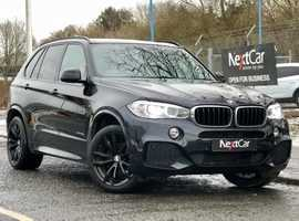 BMW X5 3.0 30d M-Sport xDrive Auto Gorgeous Combination of Dark Blue with Cream Full Leather Interior