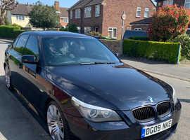 BMW 5 Series, 2009 (09) Black Saloon, Automatic Diesel, 151,000 miles