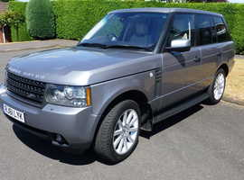 Land Rover Range Rover, 2011 (61) Grey Estate, Automatic Diesel, 96,000 miles
