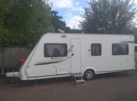 Compass venture 544 touring caravan 4 berth