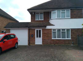 3 Bed Semi Detached House with ground floor extensions. No chain.