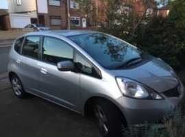 Honda Jazz, 2008 (58) Silver Hatchback, Manual Petrol, 59,500 miles