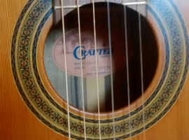 Crafter CE 15N in excellent condition Lovely nylon string guitar