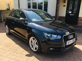 Audi A1, 2014 (14) Black Hatchback, Manual Petrol, Full Leather, Bose Sound System