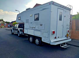 NORTHSTAR 5TH WHEEL TRAILER - FORD RANGER THUNDER 4X4 D/C - NORTHSTAR CUSTOM MADE ONE OFF! RUDUCED BY £4000.00 FOR QUICK SALE!!!