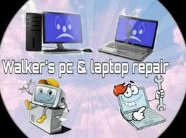 Walker's Pc and laptop Repair