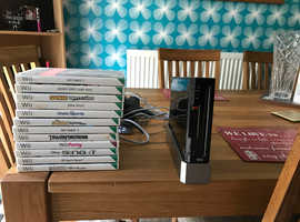 Wii, one controller and games