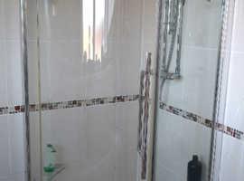 Aqualux 900mm quadrant shower enclosure & tray