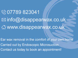 Ear Wax Removal Service | Home Visits | Bournemouth | Poole | Surrounding Areas