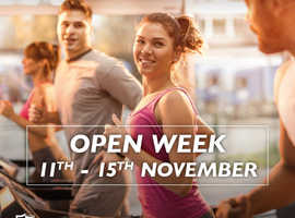 OPEN WEEK CRAXTON WOOD HEALTH CLUB