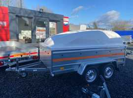 8.7x4.2 double axle trailer 52cm side with hard top ABS