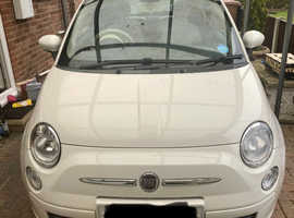 Fiat 500, 2009 (59) White Hatchback, Manual Petrol, 26,600 miles