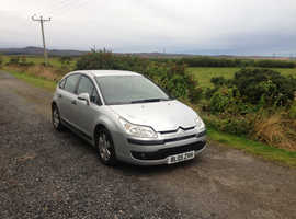 Citroen C4, 2005 (05) Silver Hatchback, Manual Diesel, 106,388 miles