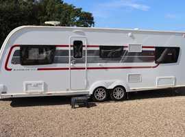 Elddis Rambler 21/6 SoLid 2018 6 Berth Fixed bed Twin Axle Caravan + Motor Mover + 3 Months Warranty Included