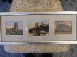 Three Antique Oil Paintings Gateshead Durham Newcastle Northumberland