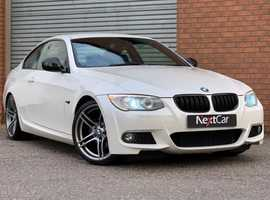 2012 BMW 3 Series 2.0 318i Sport Plus Edition Coupe Stunning Example in Pearlescent White! Gorgeous Car Throughout