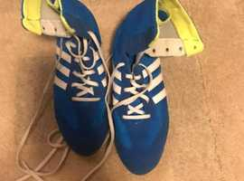 Boxing boots size 6.5 and gloves 12oz