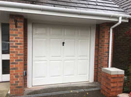 Garage Door. Single up and over Cardale. White, 2110 x 2110. No longer needed.