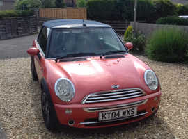 Mini MINI, 2004 (04) Orange Convertible, Manual Petrol, 73,000 miles