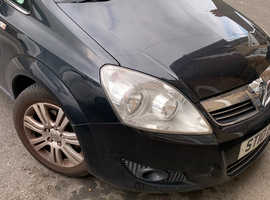 Vauxhall Zafira, 2010 (10) Black MPV, Manual Petrol, 115,329 miles