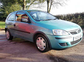 2005 Vauxhall Corsa 1.0 Life, 84000 miles, FULL service History, MOT Sept 2019, Immaculate