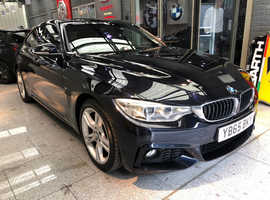 BMW 4 Series 420D, 2015 (65) Black Coupe, Automatic Diesel, 51,478 miles